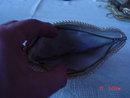 Vintage Imitation Pearl Bead Clutch Evening Bag Purse