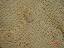 Antique Victorian Ivory Cotton Tatted Crocheted Drawstring Purse