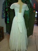 Hand Made Ivory Wedding Dress