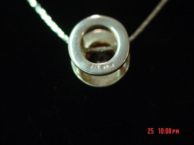 Sterling & Garnet Pendant