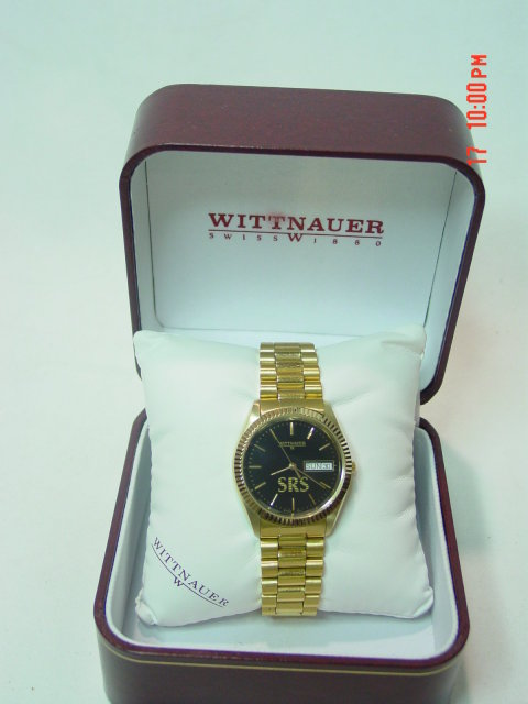 Goldtone Wittnauer Men's Watch BL9639