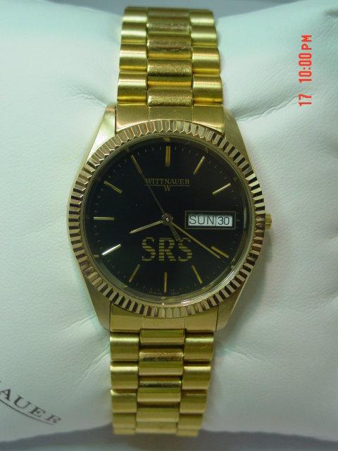 Goldtone Wittnauer Men's Watch BL9639