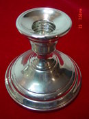 Pair of International Silver Berkeley Sterling Console Candleholders