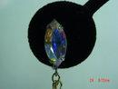 Goldtone Faux Pearl Dangle Clip Earrings by Lewis Segal
