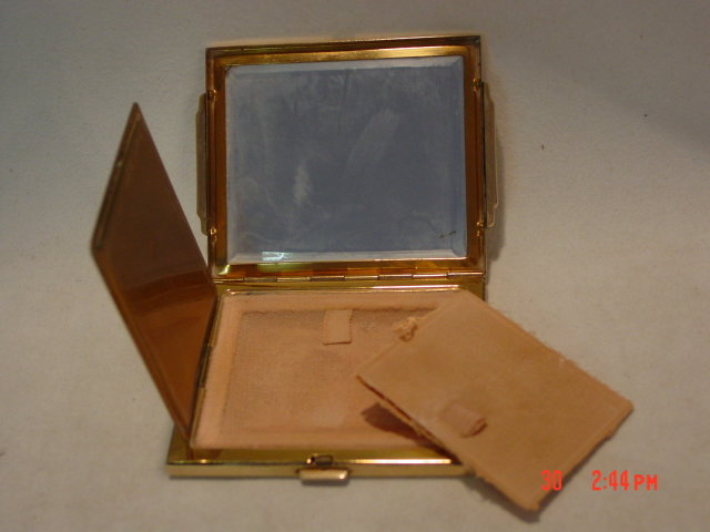 Vintage 1940's AGME Gold Art Deco