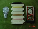 Vintage Plastic MOP Sewing Essentials Kit Compact