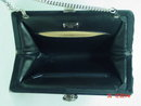 Givenchy New York Black Crepe Evening Bag Clutch Purse