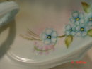 Hand Painted Porcelain Nappy Dish