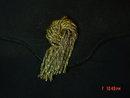 Vintage Lewis Black Rayon Evening Bag Clutch