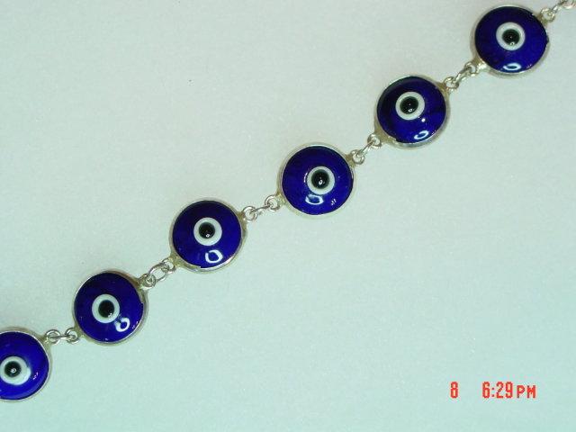 Sterling Silver Cobalt Blue Glass