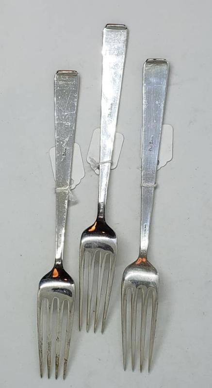 Towle Sterling Old Lace Small Dinner Fork (3 available)