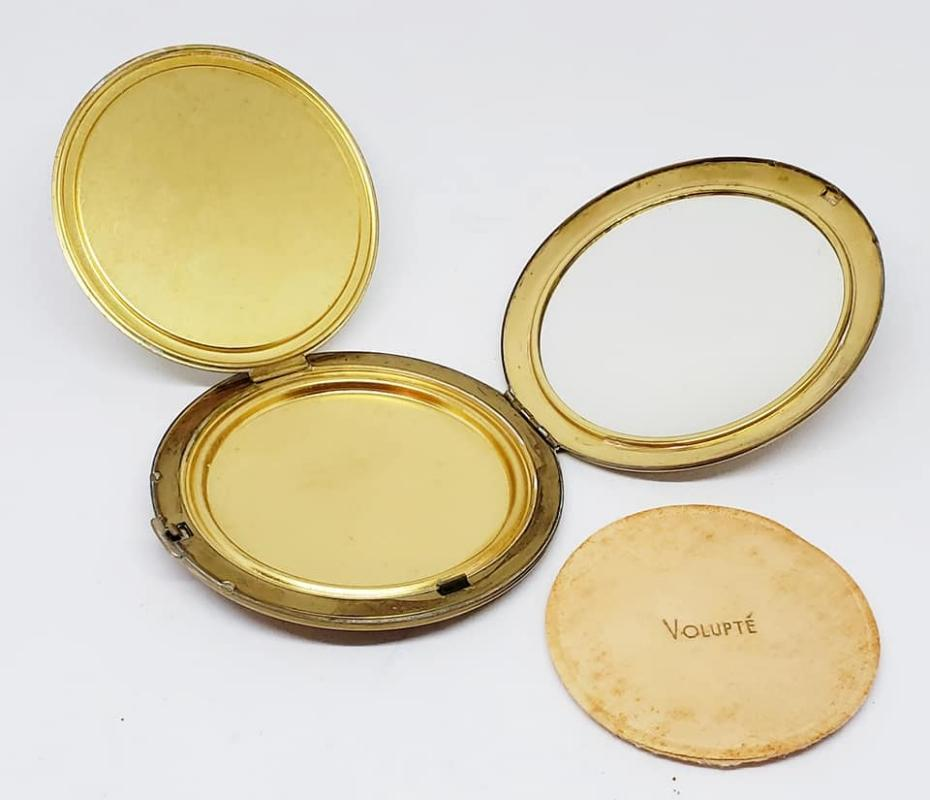 Large Round Volupte' Powder Compact