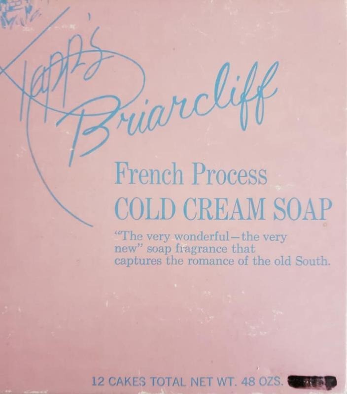 Gift Box of 12 Tapp's Briarcliff French Process Cold Cream Soap Bars