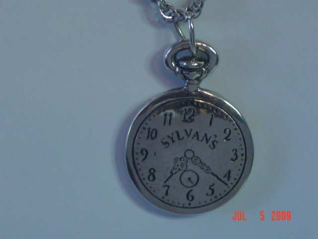 Sterling H&H Sylvan's 110th Anniversary Watch Pendant