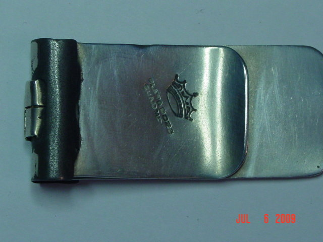 Mexico Sterling Medalion Money Clip