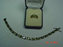 HAN Thai Sterling Peridot Bracelet & Ring Set