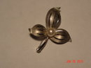 Sterling Dogwood Flower Brooch