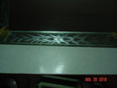 Vintage Art Deco Etched Glass Dresser Tray