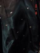 Black Dyed Curly Persian Lamb Fur Coat
