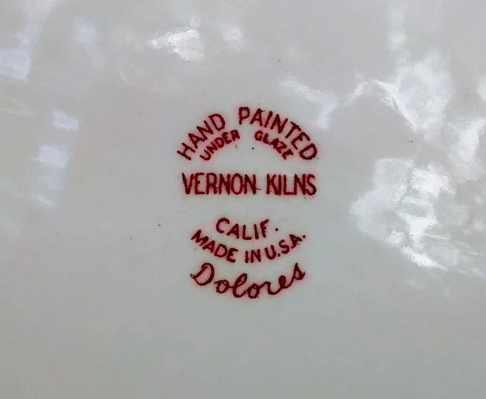 Vintage Vernon Kilns