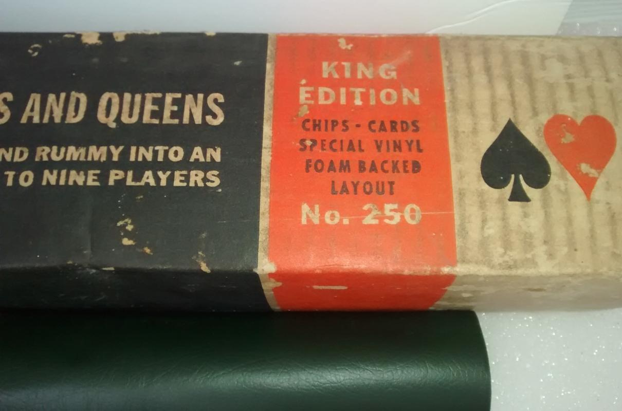 Vintage Cadaco King Tripoley Game Complete 1968-69