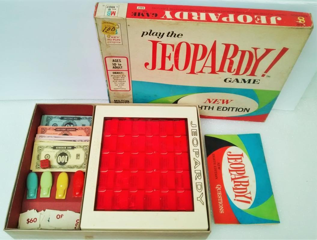 Vintage Jeopardy Game 8th Edition Complete 1964