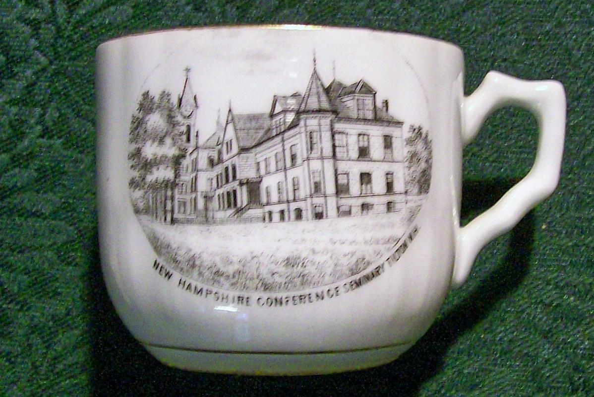 Antique New Hampshire Conference Seminary Souvenir Cup Ca. 1900 Tilton