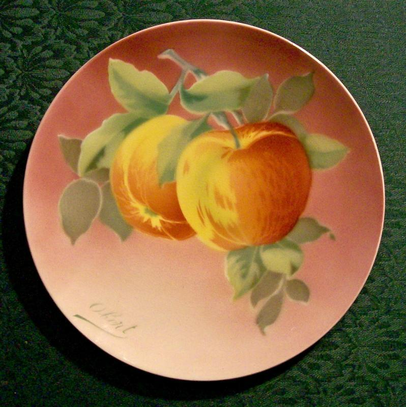 Antique Keller & Guerin Luneville Plate