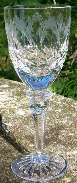 Vintage Rogaska Queen Cordial Clear Cut Crystal 5