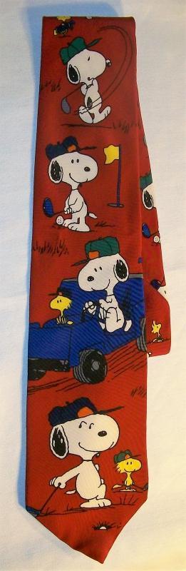 Vintage Peanuts/Snoopy Silk Neck Tie