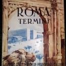 Vintage Italian Roma Termini Railroad Station Promo Book 1951 Multi-Languages