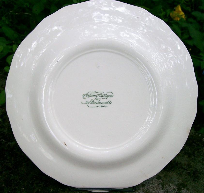 Vintage St. Albans WV First Baptist Church Historical Plate 10