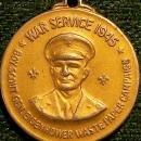 Vintage Boy Scouts/ Eisenhower WWII Service Medal 1945 Waste Paper Campaign