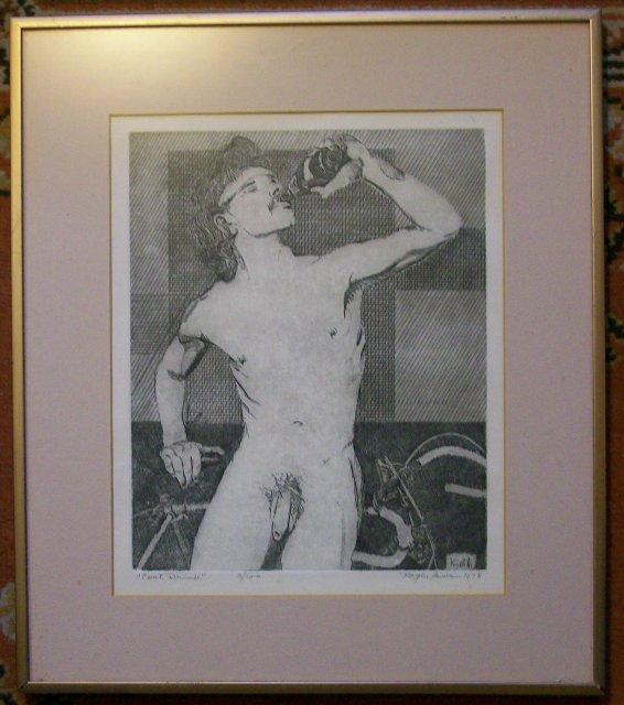 Vintage Nude Print