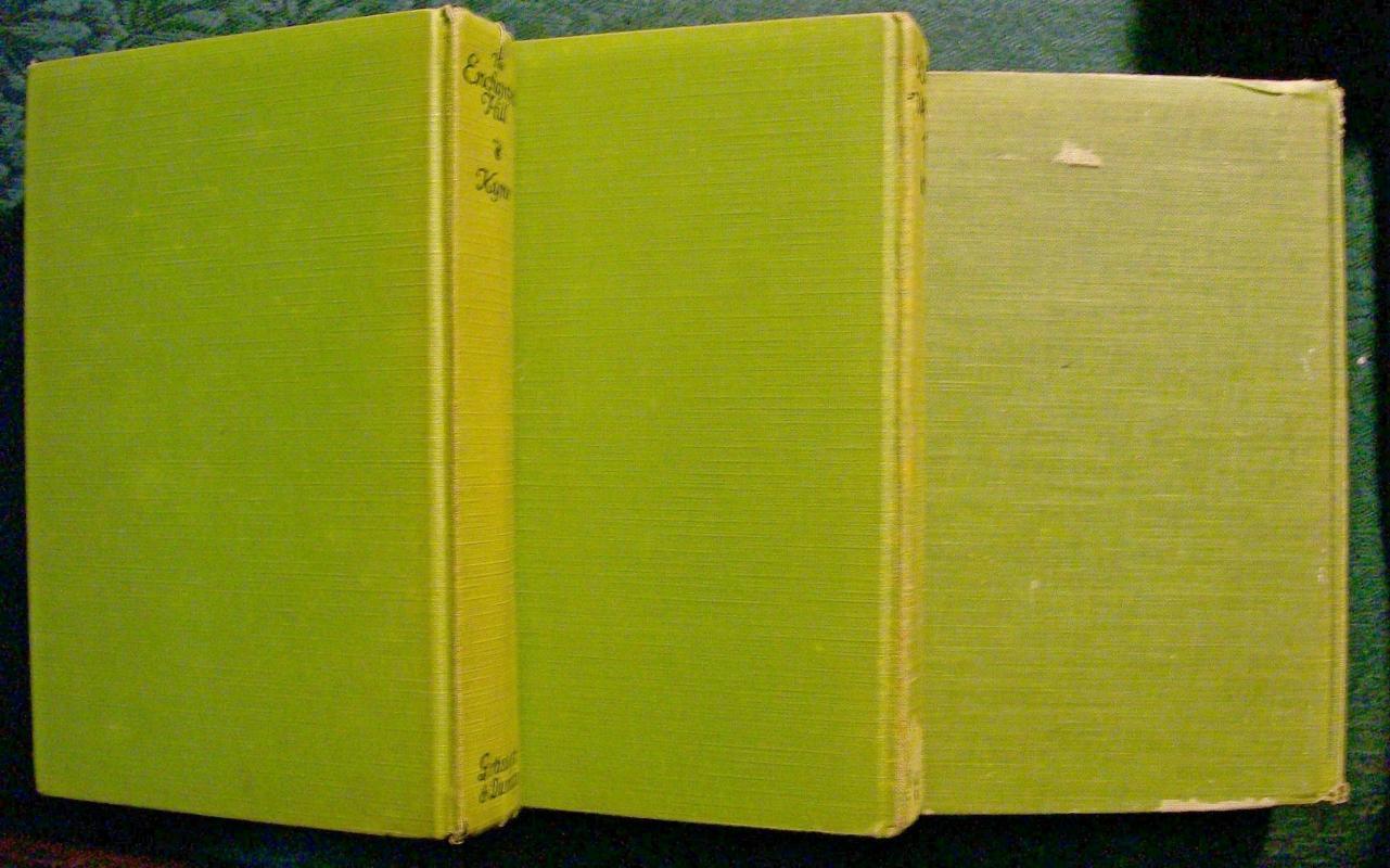 Vintage Books by Peter Kyne 1921-30 HB Set of 3