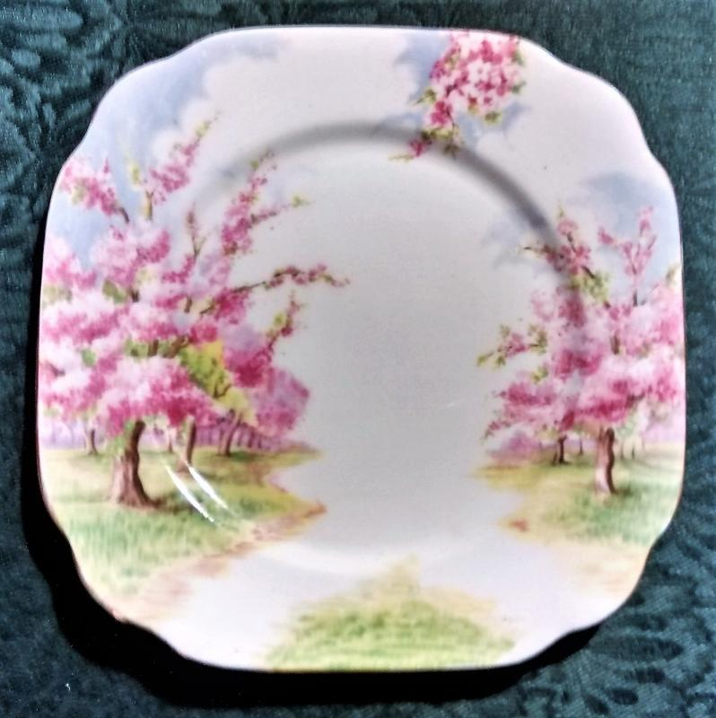Vintage Royal Albert Blossom Time Plate 6 7/8