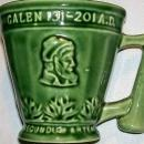 Vintage McCoy Coricidin Pharmacy Mug Green 1960s-70s Advertising