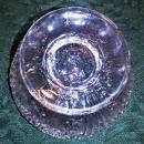 Antique Higbee Arrowhead-in-Oval Toy Punch Bowl EAPG Ca. 1890