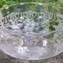 Vintage Monongah #803 Etched Champagne/Tall Sherbet Clear 1920s