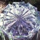 Vintage Princess House Regency Ice Bucket Clear Glass 1970s