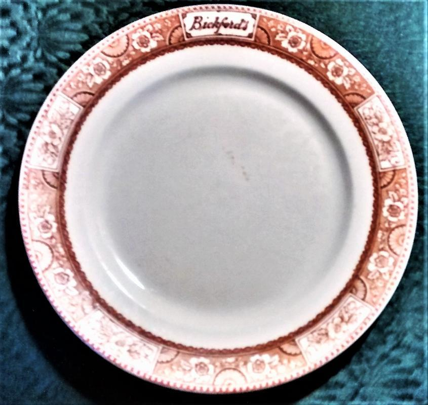 Vintage Bickford's Cafeteria/Lunch Room Advertising Plate 9