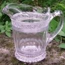 Antique Indiana Star Band Creamer EAPG 4.75