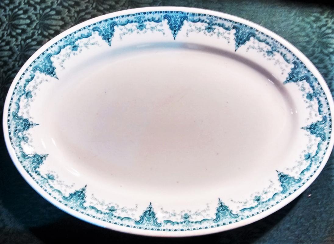 Antique Straus & Sons Platter Restaurant Ware 14.75