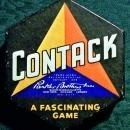Vintage Parker Brothers Contack Game w/Box Copyright 1939