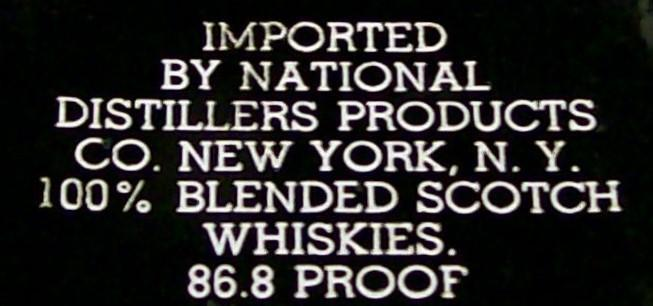 Vintage VAT 69 Whisky/Whiskey Pitcher 100th Anniversary 1963