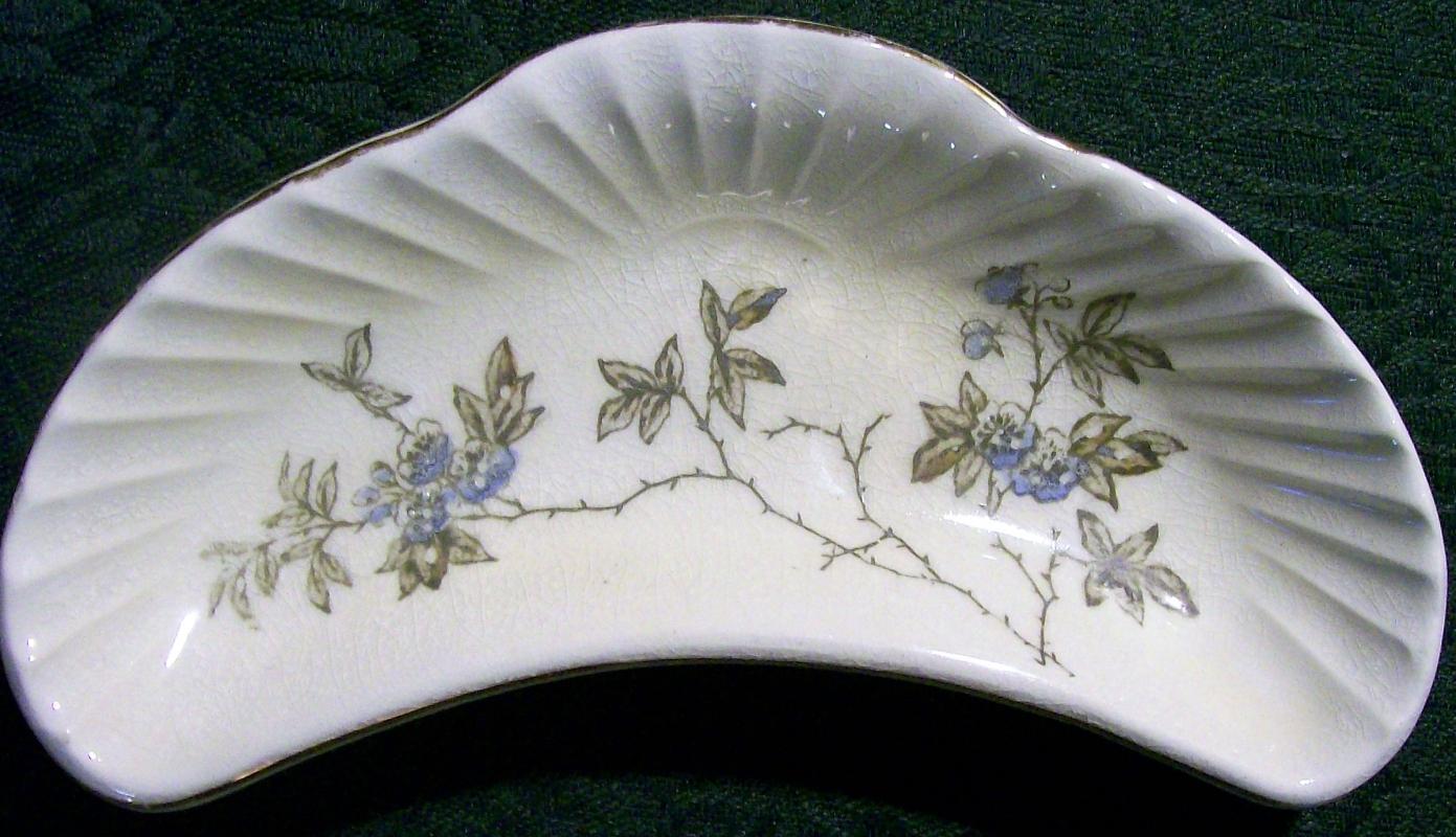 Antique Dale & Davis Bone Dish Prospect Hill Trenton NJ 1880-95