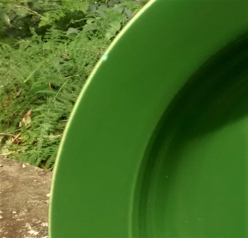 Vintage Laughlin Harlequin Deep Plate/Flat Soup 8.5