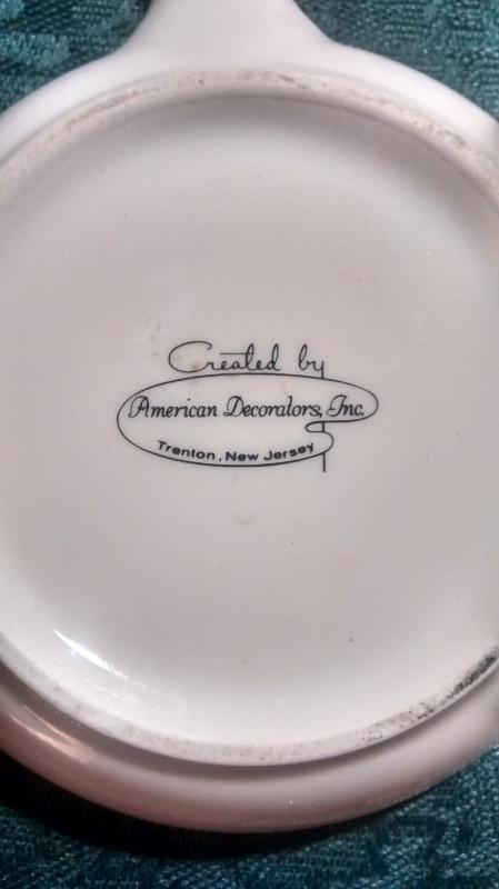 Vintage Air Force SAC Ashtray 19th Bomb Wing Skillet-Shape