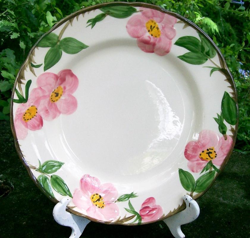 Vintage Franciscan Desert Rose Dinner Plate 10 5/8