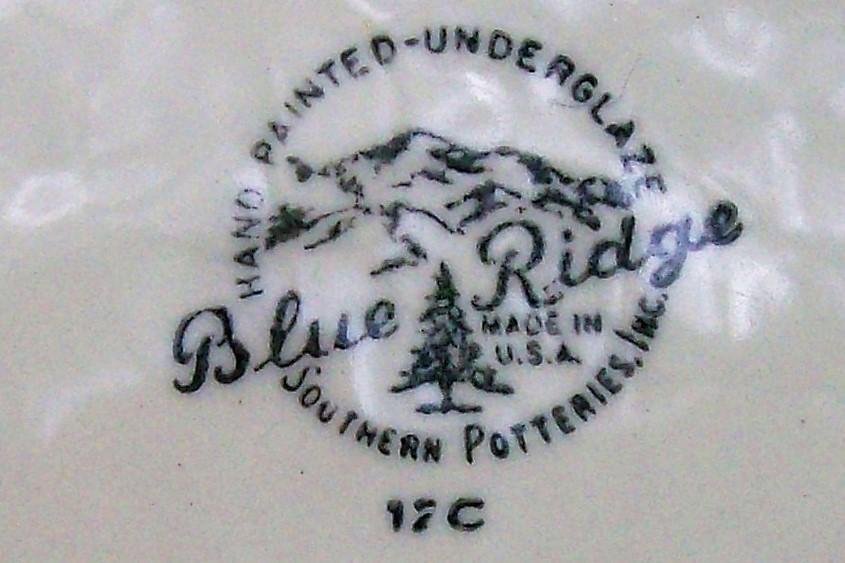 Vintage Blue Ridge